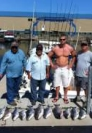 Another happy Lake Ontario charter fishing group.