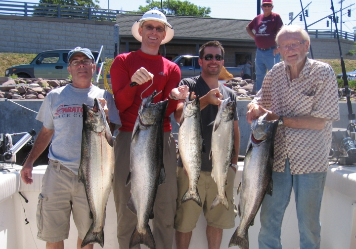 Catching the fish of your dreams is always a possibility when you charter on the Ace.