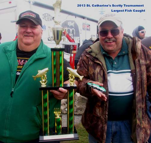 St. Catharine's Scotty Tournament Big Fish Award Trophy
