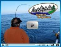 Lake ontario Fishing with Bob Redfern and Ace Charters