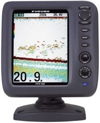 Furuno FCV 585 fishfinder used on Ace Charters