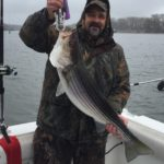 Hudson River striper fishing charters pics 21