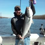 Hudson River striper fishing charters pics 19