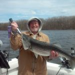 Hudson River striper fishing charters pics 14