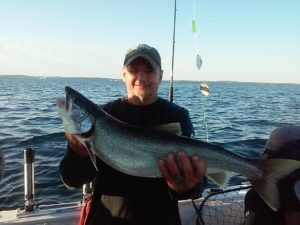 Lake Ontario fishing for Lake trout