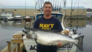 Monster King Salmon caught in July