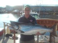 monster lake ontario king salmon caught aboard ace charters
