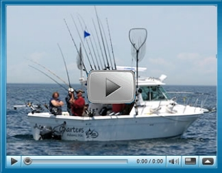 Lake Ontario Fishing videos on You Tube