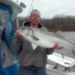 Hudson River striper fishing charters pics 33
