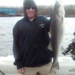 Hudson River striper fishing charters pics 31
