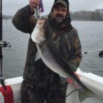 Hudson River striper fishing charters pics 21