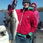 Hudson River striper fishing charters pics 20
