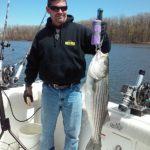 Hudson River striper fishing charters pics 17