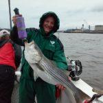 Hudson River striper fishing charters pics 4