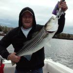 Hudson River striper fishing charters pics 1