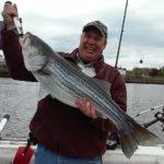 Hudson River striper fishing charters pics