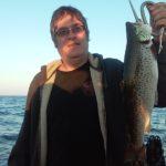 9 lb brown trout