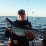 Lake Ontario fishing for Lake trout