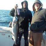 nice 12 lb silver king salmon