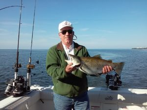 best month for trophy brown trout fishing