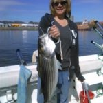 Hudson river striper charter pics 2014 h