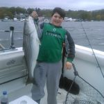 Hudson river striper charter pics 2014 c