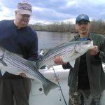 Hudson river striper charter pics 2014 a