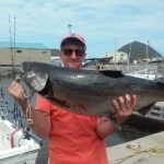 Maine client with huge kin caught aboard Ace Charters