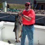 king salmon for happy angler