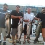 Furbush boys from Maine with nice catch of kings