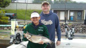Lake Ontario fishing for Spring Browns