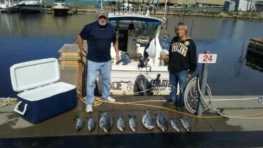 Lake Ontario Salmon Fishing Charters