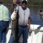Gary with his second striper