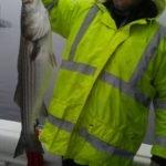 rain caught striper