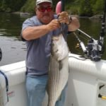 Two hands to hold this huge striper