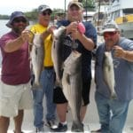Joe's group all holding stripers