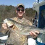 12 lb striper from the Hudson river
