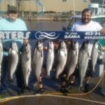 big catch of king almon