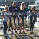 they managed to boat 7 fish